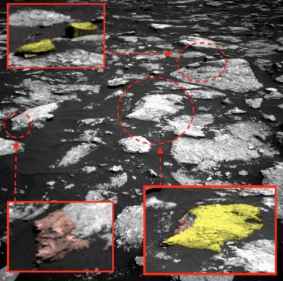 Ученые обнаружили на Марсе двух инопланетян, дом и частное НЛО (ФОТО)