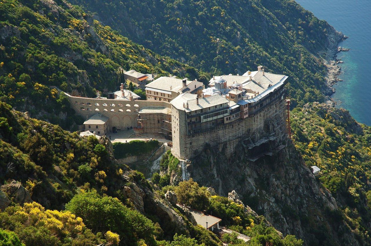 Гора Афон в Греции - земной Удел Божьей Матери (ФОТО)