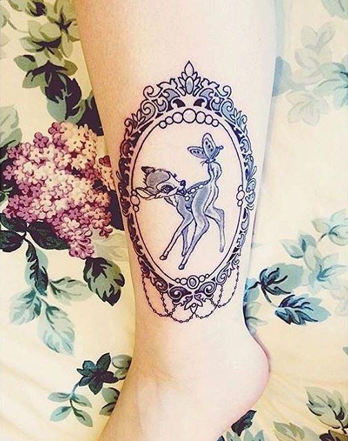 20 красивых минималистичных татуировок из мультфильмов (ФОТО)
