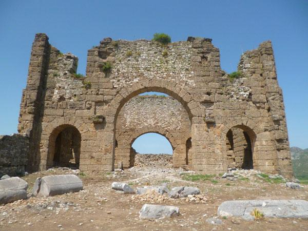 Вечный Аспендос - древний греко-римский город в Турции (ФОТО)