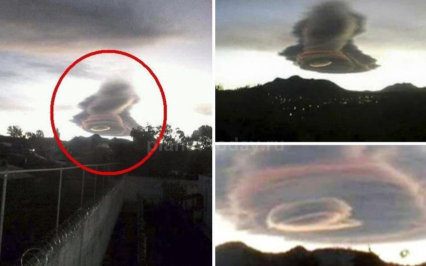 Необычные облака напугали жителей Мексики (ФОТО)