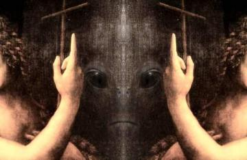На картине Леонардо да Винчи «Иоанн Креститель» обнаружили инопланетянина (ВИДЕО)