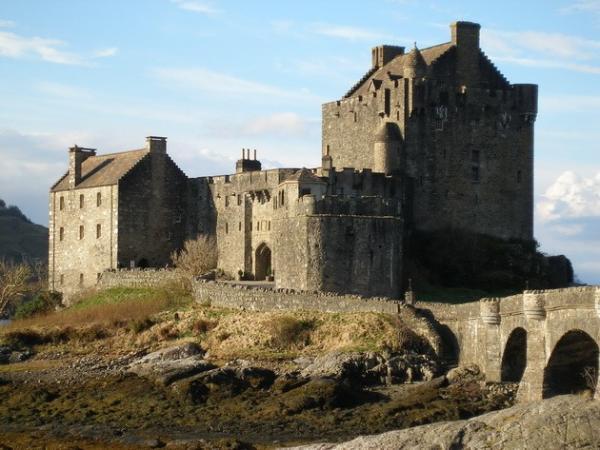 Средневековый шедевр: самый красивый замок Шотландии (ФОТО)