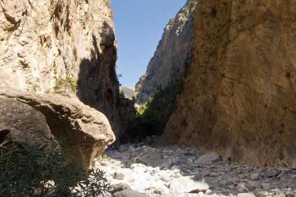 Самарийское ущелье - красивая природная достопримечательность острова Крит (ФОТО)