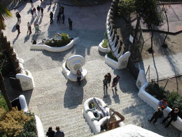Парк Гуэль : одна из самых эффектных достопримечательностей Барселоны (ФОТО)