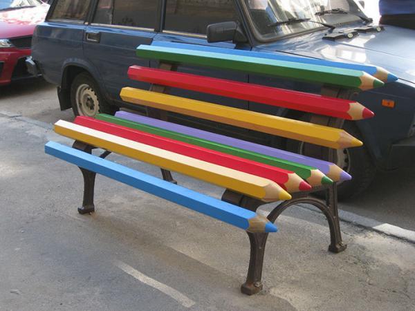 15 самых творческих и необычных скамеек в мире (ФОТО)