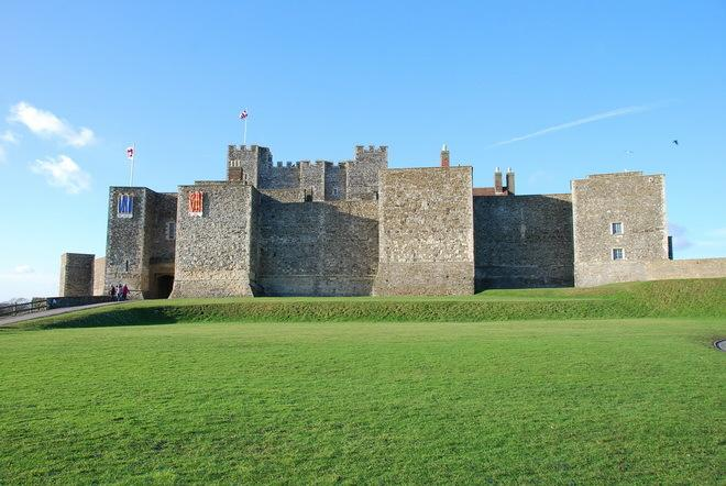 Дуврский замок - одно из самых знаковых мест Великобритании (ФОТО)