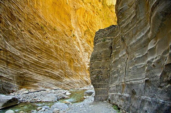 Чудеса острова Крит - живописное Самарийское ущелье (ФОТО)