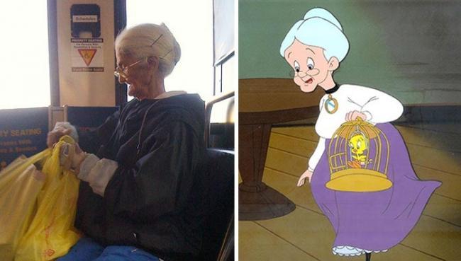 Люди, которые невероятно похожи на персонажей из популярных мультфильмов (ФОТО)