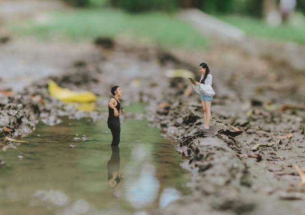 Лучшие идеи для свадьбы: снимки жениха и невесты в миниатюре (ФОТО)