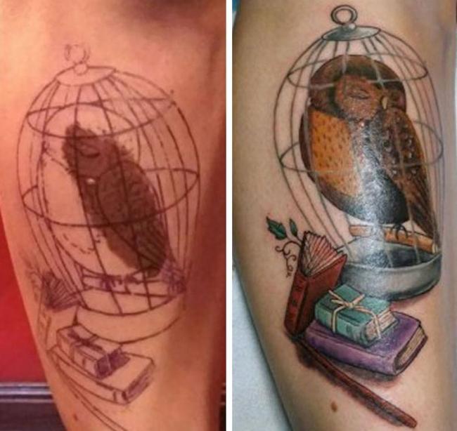 20 гениальных идей для использования родинок и родимых пятен в татуировке (ФОТО)