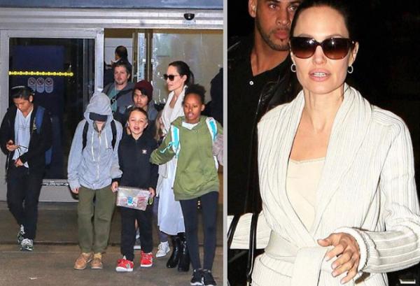 Анджелина Джоли распрощалась с черным (ФОТО)
