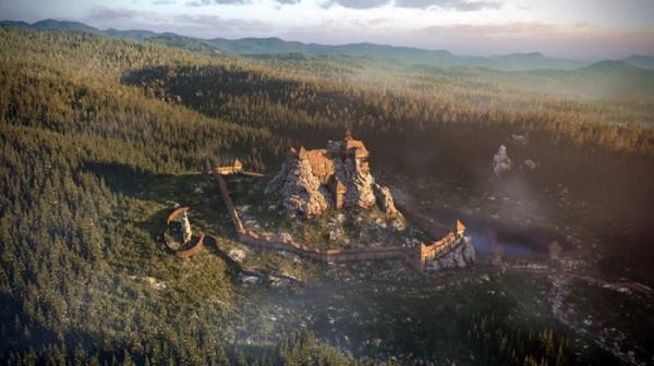 Тустань: величественная крепость среди развалин (ФОТО)