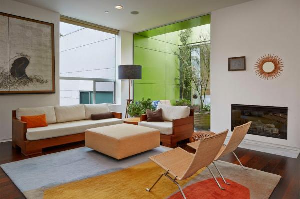 Идеальное место для отдыха: дизайн солнечного дома в американском штате Калифорния (ФОТО)
