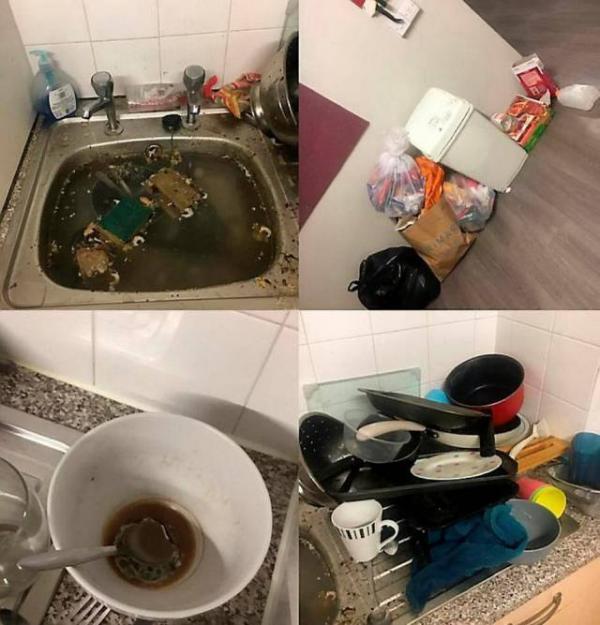 19-летняя студентка одержала победу в конкурсе на самое грязное жилье Великобритании (ФОТО)