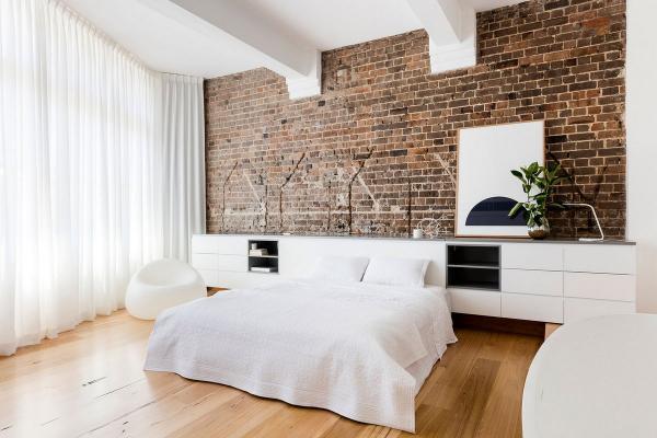 Шарм старинного здания: роскошные апартаменты с собственной террасой в Австралии (ФОТО)