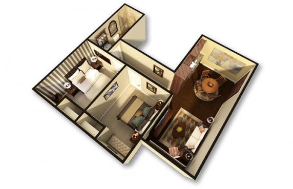 Мужчина купил бункер времен и переделал его в комфортабельное жилище за $ 17,5 млн. (ФОТО)