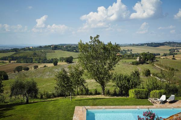 Каменный шик: идеальная вилла в сердце Италии (ФОТО)