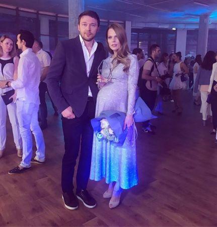 Беременная Ольга Фреймут осваивает новый вид спорта (ФОТО)