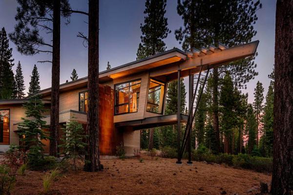 Вдали от реальности: необычная планировка эко-дома (ФОТО)
