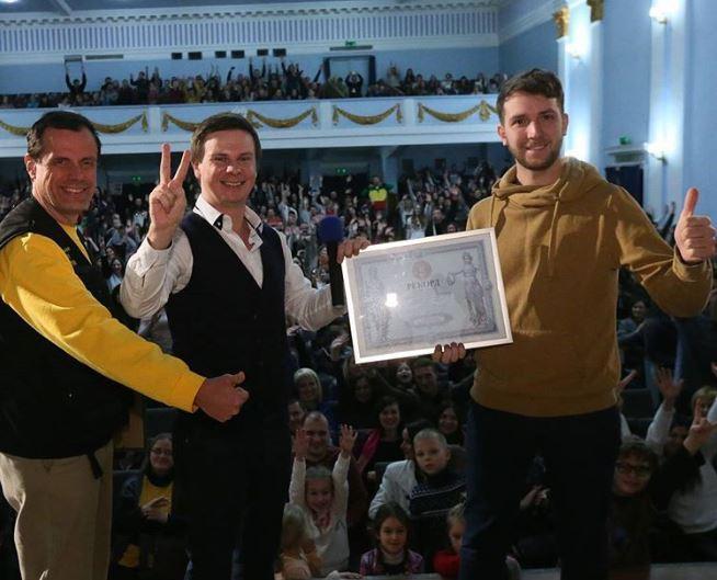 Дмитрий Комаров установил необычный рекорд (ФОТО)