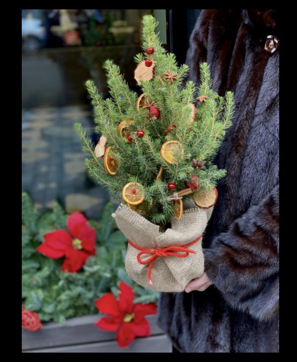 Новогодний декор от киевских флористов