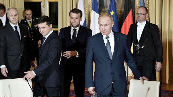 В Кремле сообщили о разногласиях Путина и Зеленского