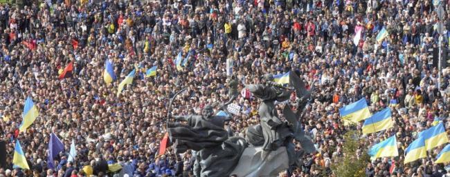 """Порошенко, Тимошенко и Вакарчук призывают украинцев выйти на Майдан перед """"Нормандским саммитом"""""""