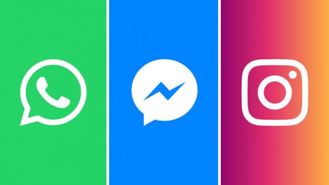 Регулятор в США запретил слияние Instagram, Facebook Messenger и WhatsApp