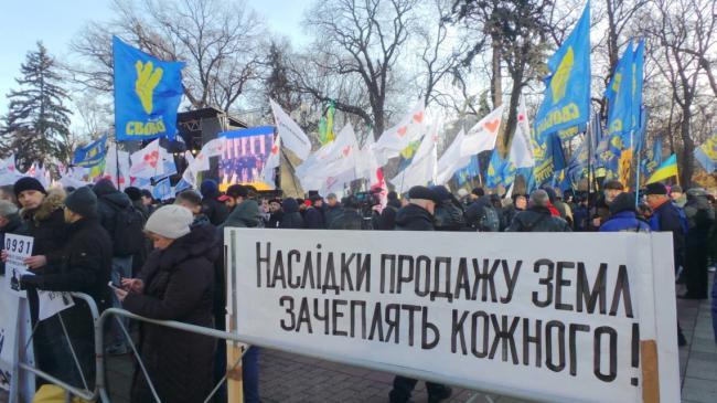 Задержанных за столкновения под Радой отпустили