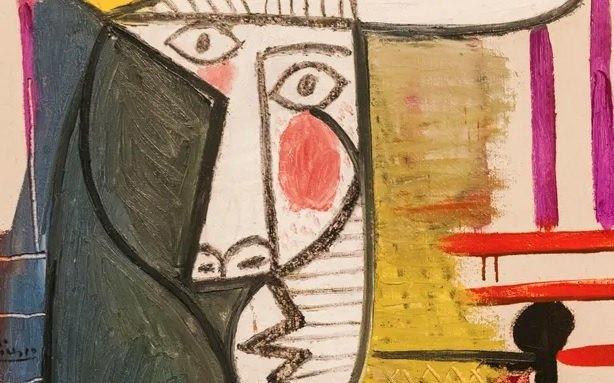 В Лондоне 20-летний посетитель выставки повредил картину Пикассо стоимостью $26 миллионов