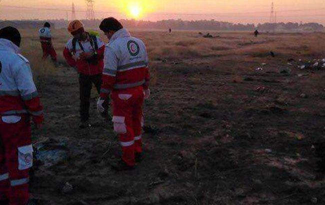 Авиакатастрофа в Иране: в СНБО назвали число погибших украинцев
