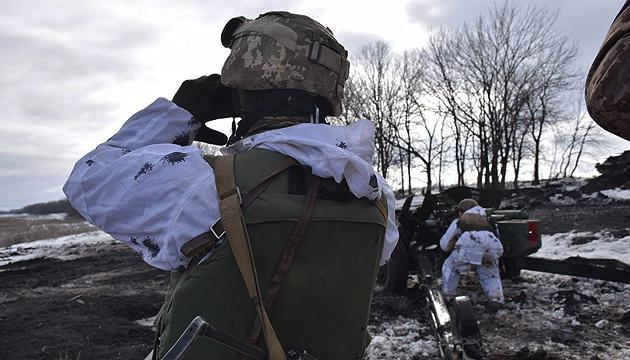 Оккупанты обстреляли из 120-мм минометов позиции ВСУ под Орехово