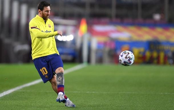 Месси будет продлевать контракт с Барселоной каждый сезон