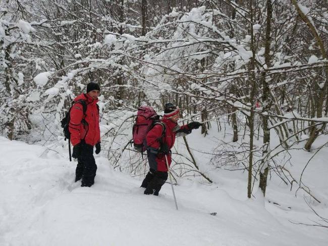 В канун Нового года в Карпатах спасли 11 туристов