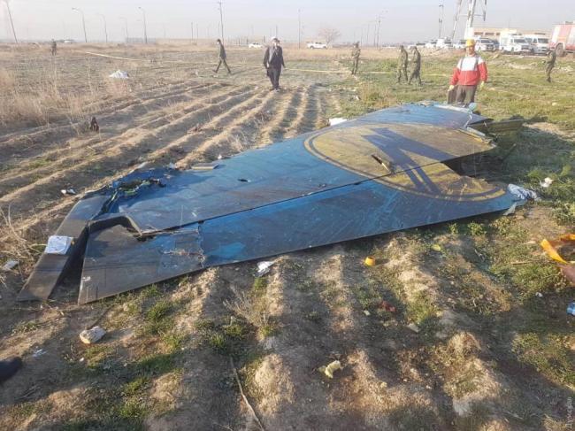 Украина отправляет поисково-спасательную группу в Иран