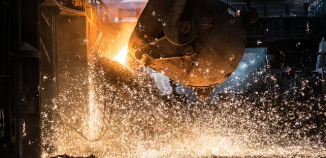 Украинская металлургия завершила год падением