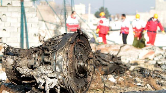 Тегеран: Черные ящики сбитого самолета МАУ должны остаться в Иране