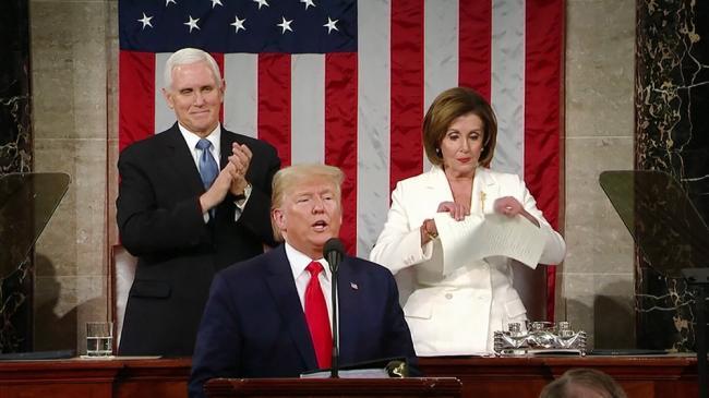 Трамп остается угрозой для американской демократии – Пелоси