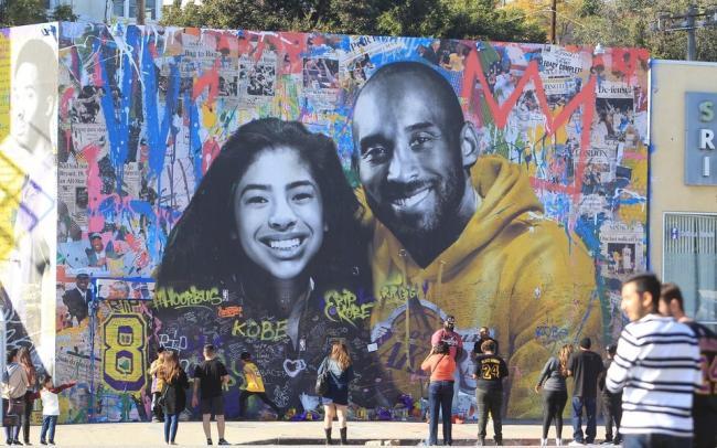 В Лос-Анджелесе прошла церемония прощания с Коби Брайантом и его дочерью