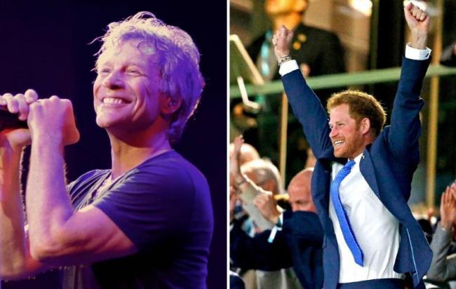 Bon Jovi запишут песню с принцем Гарри