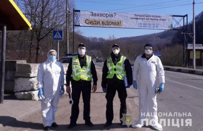 В Украине за сутки полицейские составили 32 админпротокола о нарушении карантина