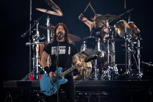 Foo Fighters закончили работу над новым альбомом