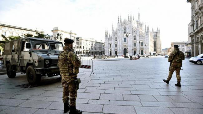 В Италии ждут завершения пика эпидемии коронавируса в ближайшее время