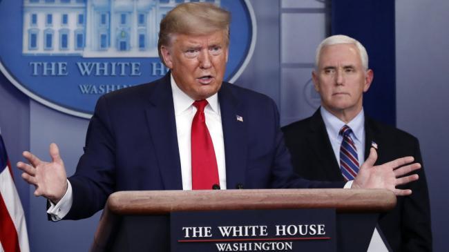 Трамп: В лучшем случае от коронавируса умрет от 100 до 200 тыс. американцев