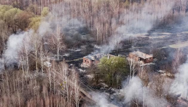 Фирсов: Пожар под Чернобылем потушили - очень помог дождь