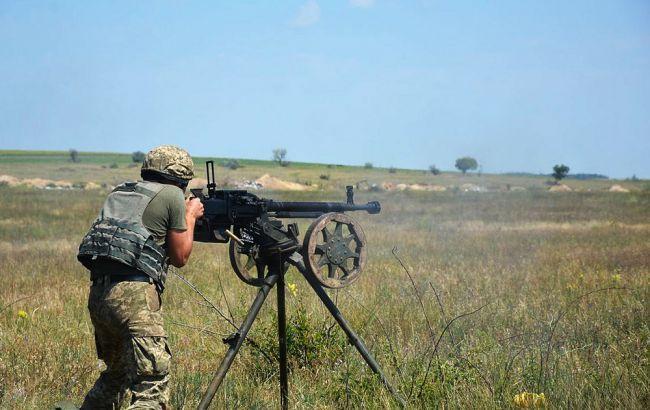 Боевики на Пасху из минометов обстреляли позиции ООС вблизи Песков