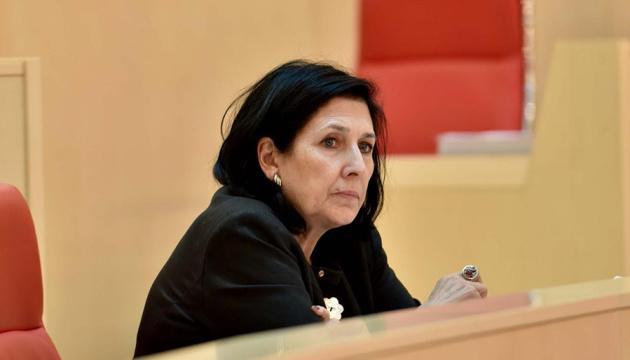 Президент Грузии предостерегает от назначения Саакашвили в украинское правительство