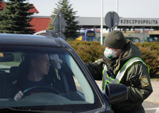 С 7 апреля госграницу Украины можно будет пересечь только автотранспортом через 19 пунктов пропуска