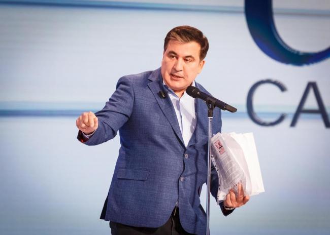 """""""Пойду вместе с президентом ломать схемы"""". Саакашвили прокомментировал возможное назначение в Кабмин"""